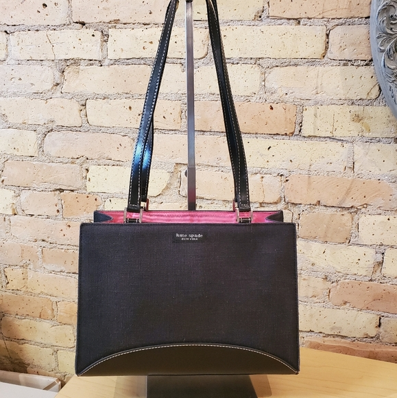 Kate Spade Tote with Pink Lining